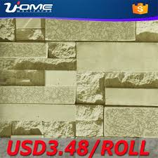 China Uhome <b>3D Brick Wallpaper</b> for Vintage Decorative - China ...