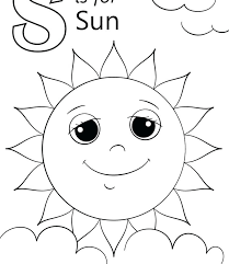 Printable Sun Free Printable Sun Coloring Pages For Adults Page To
