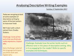 descriptive writing examples by lead practitioner teaching  descriptive writing examples by lead practitioner teaching resources tes