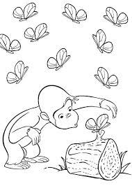 Curious George Crafts Advanced Color Pages Curious George