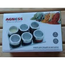 <b>Набор для специй AGNESS</b> на магнитах | Отзывы покупателей