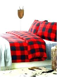 buffalo check duvet covers red plaid king tartan cover canada