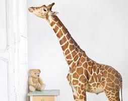 giraffe wall decal on toddler wall art nz with giraffe wall decal your decal shop nz designer wall art decals