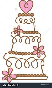 Wedding Cakes Amazing Wedding Cake Cartoon Look Charming And