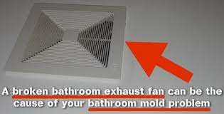 mold problem in the bathroom