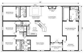 5 Bedroom 4 Bath Rectangle Floor Plan   Google Search