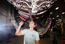 jessica duke a jet engine mechanic at pratt whitney in middletown conn credit danny ghitis for the new york times turbine engine mechanic