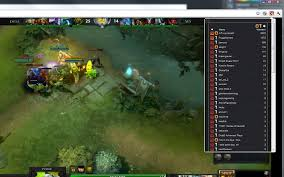 dota 2 stream browser chrome web store