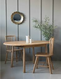 nordic round extending dining table hover to zoom