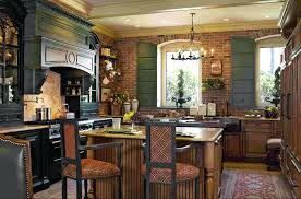 French Country Kitchen Decorating Ideas Old Pinterest