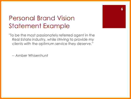 4+ example of personal brand statement