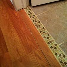 kitchen floor laminate tiles images picture: creative tile moulding trim between tile bathroom and laminate flooring love the transition rather than