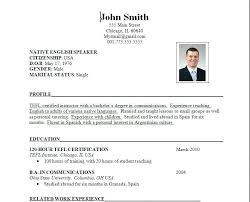 New Resume Format For Freshers Resume Format For School Teacher New ...