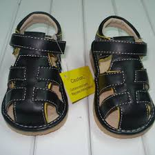 baby boy shoe size 3 discount baby boy squeaky sandals black with yellow edge size 3 8