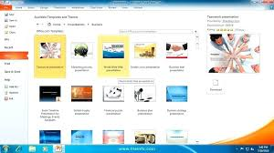 Themes For Microsoft Powerpoint 2010 Free Download Templates Office Free Download Microsoft Powerpoint Technology