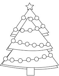 Kleurplaat Kerstboom Kleurplaat Kleurplaatjenl
