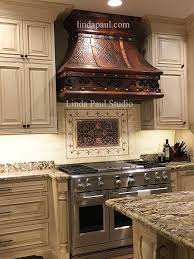 Copper Backsplash Kitchen Copper Backsplash Medallions Copper Backsplash Medallions Ba004m