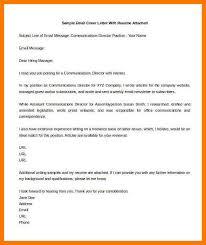 8+ Sample Email Cover Letter | Park-Attendant