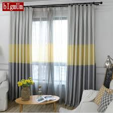 Image Curtains Ideas Aliexpress Us 919 41 Offeuropean Sinple Style Home Office Blackout Curtains Solid Color Bedroom Tulle Curtains For Living Room Window Treatments Blindsin