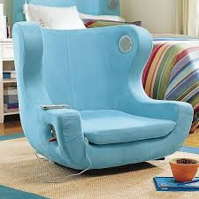 peaceful design ideas teen room chairs a chair that allows your charge electronic device and also