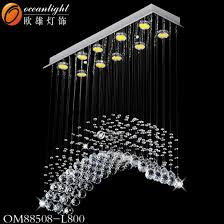 modern led kitchen hanging crystal lighting chandelier pendant lamp with hotel restaurant or dining roon