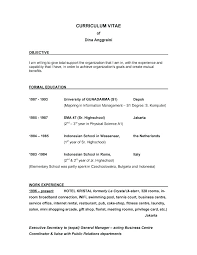Examples Of Objective Statements On Resumes Sample Resume Objective Statement Best Career Objective For Sales