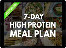 muscle gain diet plan 7 days high protein vegetarian meal plan build muscle and tone up