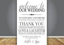 Document Template : Wedding Program Thank You Free Construction