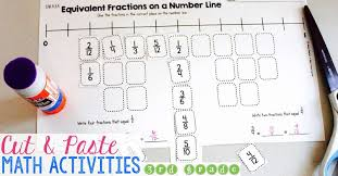 Cut & Paste Third Grade Math Activities