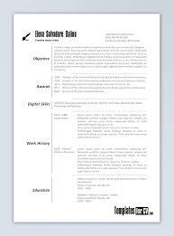 Unique Resume Templates Free Word Template Graphic Design Scope Of Work Template Resume Templates 85
