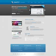 Business Website Templates Stunning Smartly Website Template CorporateBusiness Website Templates