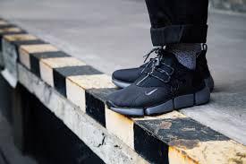 nike pocket knife dm black grey on foot shots