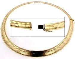 omega necklace 12mm 16 18 20