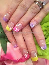 Eye Candy Nails & Training - Multicoloured lilac, pink and yellow ...