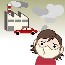 無料イラスト] 工場や車の排気ガスによる大気汚染 - パブリックドメインQ:著作権フリー画像素材集