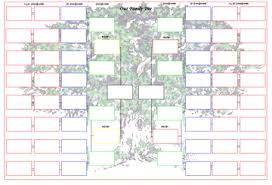 Family Tree Charts To Download A3 Print Or Stick Family Tree Chart