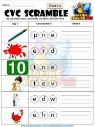 Cvc words consist of a consonant followed by a vowel and then another consonant sound. 100 Free Cvc Worksheets Activities And Games Making English Fun