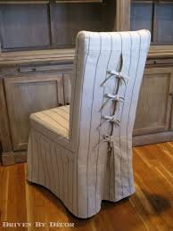 chair covers for dining chairs. Dress Up Your Dining Chairs: Corseted Slipcovers - Driven By Decor Chair Covers For Chairs I
