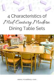 mid century modern kitchen table and chairs. MCM Dining Table Sets Mid Century Modern Kitchen And Chairs T