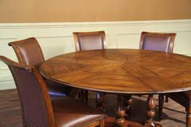 round walnut dining table. Round Dining Table Hidden Chairs To Solid Walnut With Self Storing Leaves 10725 Images