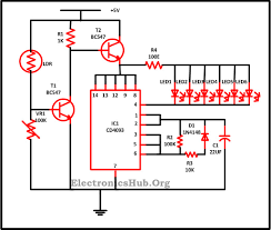 led christmas lights circuit diagram and working led circuit diagram for decoration purpose at Led Circuit Diagrams