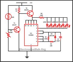 led christmas lights circuit diagram and working christmas lights using leds circuit diagram