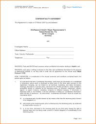 Business Confidentiality Agreement Sample Non Compete Agreement Doc Business Agreements Sample Cards Template 10