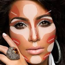 kim kardashian contouring makeup guide 11