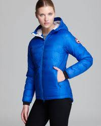 Canada Goose. Women s Blue Down Coat Pbi Camp Hooded Lightweight