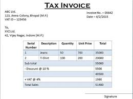 Difference Between Tax Invoice And Retail Invoice Tax Invoice Vs