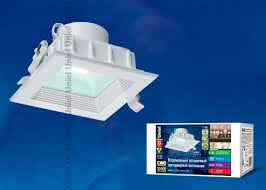 <b>Светодиодный встраиваемый светильник Uniel</b> ULT-D02C-10W ...