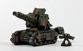 Marine Artilery I Paint Therefore I Am Epic Space Marine Artillery