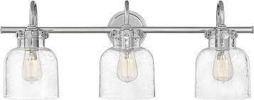 Hinkley 50123cm Congress Modern Chrome 3 Light Bathroom Vanity Lighting Hin 50123cm