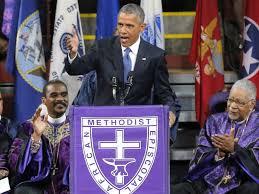 Remembering Obamas 2015 Speech At The Charleston Shooting Service